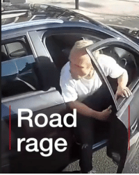 "A motorist was filmed driving at speed towards cyclists in Clapham in south-west London. He drove on to the pavement, threatened to run the cyclists over and told them the car was stolen. Tap the link in our bio ⬆️ to find out more about the incident. Police described the man as ""reckless"" and have appealed for information to identify him. roadrage cycling audi commute police bbcnews: Road  rage A motorist was filmed driving at speed towards cyclists in Clapham in south-west London. He drove on to the pavement, threatened to run the cyclists over and told them the car was stolen. Tap the link in our bio ⬆️ to find out more about the incident. Police described the man as ""reckless"" and have appealed for information to identify him. roadrage cycling audi commute police bbcnews"