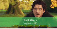 "Game of Thrones, Prince, and Tumblr: Robb Stark  king in the north'  Ithink it's time to say goodbye to Prince Theonbooboo <blockquote><div><a href=""http://theonnojoy.tumblr.com/tagged/realgot"">game of thrones as the real housewives of westeros</a></div></blockquote>"