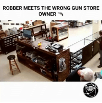 Memes, California, and Law Abiding Citizen: ROBBER MEETS THE WRONG GUN STORE  OWNER  A  L  Mon 10:48:59  INSIDE  DROP This is how you do it, how else could a law abiding citizen defend himself from the attackers if his state had politicians like the ones have in California. Can a liberal care to explain a different scenario that would work, I mean since guns are bad and all? @Regrann from @theinsidedrop - I would've done the same thing. tacticalshit tactical guns gunporn gunsdaily tacticallife america 801gun pewpew sickguns sickgunsdaily firearms gunlife gunfanatic dailybadass thatshowyoudoit 2ndamendment donttreadonme 1776united thepewpewlife 2aAllDay ΜΟΛΩΝΛΑΒΕ lawabiding americaninfidel infidel guncontrol DTOM @Resistance_85