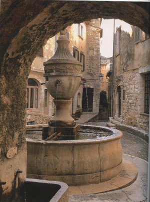 robert-hadley:  Drinking fountain, Saint Paul de Vence, Provence. Photo by Miguel-Flores Vianna: robert-hadley:  Drinking fountain, Saint Paul de Vence, Provence. Photo by Miguel-Flores Vianna