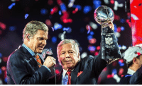 "Robert Kraft was asked if he holds any grudges over the events that transpired during the deflategate scandal. - ""I really don't hold grudges,"" Kraft said, ""I mean, I remember everything, but I move on."" He added: ""Envy and jealousy are incurable diseases. The haters still hate. And I understand it, and we'll do our best to keep them in that position."" For a 75 year old man, he's savage as fuck 🔥: Robert Kraft was asked if he holds any grudges over the events that transpired during the deflategate scandal. - ""I really don't hold grudges,"" Kraft said, ""I mean, I remember everything, but I move on."" He added: ""Envy and jealousy are incurable diseases. The haters still hate. And I understand it, and we'll do our best to keep them in that position."" For a 75 year old man, he's savage as fuck 🔥"