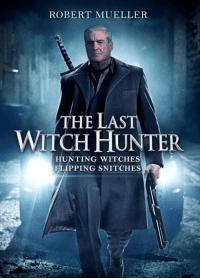 Robert Mueller: ROBERT MUELLER  THE LAST  WITCH HUNTER  HUNTING WITCHES  FLIPPING SNITCHES