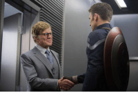 Robert Redford wanted to do CAPTAIN AMERICA: THE WINTER SOLDIER, because his grandchildren are fans of Marvel films, and he wanted them to see him in one.  (Andrew Gifford): Robert Redford wanted to do CAPTAIN AMERICA: THE WINTER SOLDIER, because his grandchildren are fans of Marvel films, and he wanted them to see him in one.  (Andrew Gifford)
