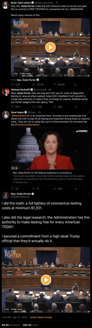 "robert-the-redhead-lover:  leepacey:everybody say thank you miss katie porter for potentially saving thousands of lives   That's a gross exaggeration. This virus thing is blown out of proportion, thanks to the media. She saved maybe tens of lives with this bullying.   That's about the dumbest thing I've ever read and is in no way backed by the evidence. Imagine calling basic ass safety measures in the middle of a global pandemic ""bullying"" 🙄: robert-the-redhead-lover:  leepacey:everybody say thank you miss katie porter for potentially saving thousands of lives   That's a gross exaggeration. This virus thing is blown out of proportion, thanks to the media. She saved maybe tens of lives with this bullying.   That's about the dumbest thing I've ever read and is in no way backed by the evidence. Imagine calling basic ass safety measures in the middle of a global pandemic ""bullying"" 🙄"