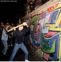 Memes, Germany, and Getty Images: Robert Wallis/Corbis via Getty Images This day in history - 1989: Berlin Wall falls – East Germany throws open its borders, allowing citizens to travel freely to the West.