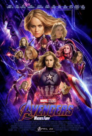 "niggamachine312:How angry men think Avengers Endgame will be.: ROBERTCHRIS MARKCHRISSCARLETT JEREMYDON  BRIE  BRADLEY WIHJOSH  DOWNEY JR. NEVAN&ARUFFALO HEMSWORTH JOHANSSON RENNER CHEADLE RUDD. LARSON GILLAN |COOPER"" BROLIN  ASROCKET AS THANOS  MARVEL STUDIOS  WHERESFURy  MARVEL STUOS PSEN AVENGERS EBNOGAME RIBENT DOWNEYUR CIRNS EVANS MARKRUFALD CHRIS IEMSWORTH SCARLET JOHANSSIN JEREMY RENNER ON CHE.ADE  OAULERUDO BRIELARSON KAREN GILAI DAUAI CURIRA BENEDUCT WONG JODLEAUREAU BRACLE COPT AS RICE WIR OWYTH PAUTROW DIHLOSH BROCALEY FNlC  畾 ,HENT OPALOCH Pili訓IICHBELI CHRISTOPHERMARKUS STEPHENMFEELY  MARVEL  APRIL 26  ONFAVREAU JANSN LECORA ADISO MICHAEL GIULOD TRINHIRA  I CHRISTOPHERMARKUS&STEPHENII ANIHONY JE RUSSI  IN  LBY CINEMA, RE-D 3D AND IMAX niggamachine312:How angry men think Avengers Endgame will be."