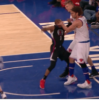 Chris Paul, Sports, and Hook: Robin Lopez basically hooked Chris Paul in the face. He got ejected. 😳