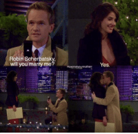 The amazing moment that should have lasted forever. #HIMYM https://t.co/w8HAlpl8JD: Robin Scherbatsk  will you marry me  Yes The amazing moment that should have lasted forever. #HIMYM https://t.co/w8HAlpl8JD