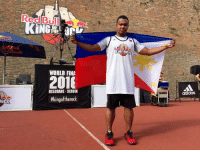 PBA legend Willie Miller (basketball) is representing Philippines today at the #kingoftherock World Finals in Serbia. Wish him luck! #pinaspataas  Dhei: ROC  WORLD FINA  BELGRADE -SERBIA  #kingoftherock  adidas PBA legend Willie Miller (basketball) is representing Philippines today at the #kingoftherock World Finals in Serbia. Wish him luck! #pinaspataas  Dhei