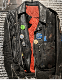 Target, Tumblr, and Abortion: Rock n' Rol  ock n Ko  ABORTION  EGA-  NO  s Rape thegreensorceress:  Joan Jett's leather jacket  Rock and Roll Hall of Fame Cleveland Ohio