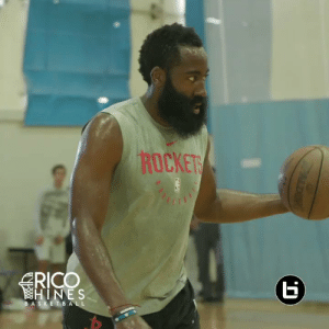 Basketball, James Harden, and Memes: ROCKETS  RICO  HINES  BASKETBALL  ALDING James Harden showed off his insane scoring package @RicoHinesBball again... @Jharden13 🎒 is way too deep https://t.co/3aEhAm1YB2