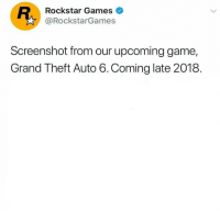 "<p>Any potential? via /r/MemeEconomy <a href=""http://ift.tt/2CNjCPO"">http://ift.tt/2CNjCPO</a></p>: Rockstar Games  @RockstarGames  Screenshot from our upcoming game,  Grand Theft Auto 6.Coming late 2018. <p>Any potential? via /r/MemeEconomy <a href=""http://ift.tt/2CNjCPO"">http://ift.tt/2CNjCPO</a></p>"