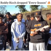 """Friends, Memes, and Mixtape: Roddy Ricch dropped """"Every Season"""" O  ERO Westcoast rapper roddyricch dropped his new mixtape feedthestreets2 have you heard it yet ⁉️ Follow @bars for more ➡️ DM 5 FRIENDS"""