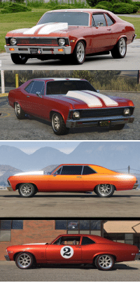 Made my real-life Chevy Nova out of the Vamos. I'd say it's pretty close.: ROGER  PENSKE  1XZH422 Made my real-life Chevy Nova out of the Vamos. I'd say it's pretty close.