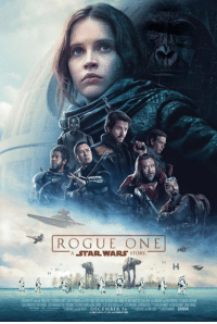 Rogue One theatrical poster if you haven't seen it!: ROGUE ONE  A STAR WARS  STORY.  DECEMBER 16 Rogue One theatrical poster if you haven't seen it!