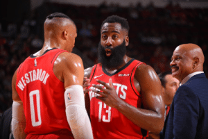 """It's sad to say, but we're not going to win 82 games this year. Now we've got a chance to win 81."" - Mike D'Antoni  Westbrook 24 PTS, 16 REB, 7 AST 7-17 FG, 3-7 3PT, 7-11 FT 16 PTS in 4th   Harden 19 PTS, 14 AST, 7 REB, 7 TO 2-13 FG, 1-8 3PT, 14-14 FT  https://t.co/RViS6N1dCW: ROKIT  WESTMIA  TS ""It's sad to say, but we're not going to win 82 games this year. Now we've got a chance to win 81."" - Mike D'Antoni  Westbrook 24 PTS, 16 REB, 7 AST 7-17 FG, 3-7 3PT, 7-11 FT 16 PTS in 4th   Harden 19 PTS, 14 AST, 7 REB, 7 TO 2-13 FG, 1-8 3PT, 14-14 FT  https://t.co/RViS6N1dCW"