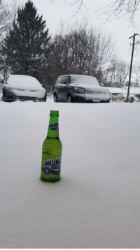 Another, Roc, and Rock: ROLLIN  ROC  ROLLING  ROCK Another Rolling Rock morning pic for my homies