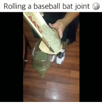 How to roll a baseball bat joint with @xxjune_da_goonxx 🔥👌: Rolling a baseball bat joint How to roll a baseball bat joint with @xxjune_da_goonxx 🔥👌