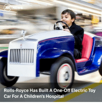 """Cars, Hump Day, and Memes: Rolls-Royce Has Built A One-off Electric Toy  Car For A Children's Hospital Via @carthrottlenews - How's this for a feel-good story to brighten up your hump day? Rolls-Royce has donated a unique, electric-powered toy car to a children's hospital unit. - The miniature motor, dubbed the SRH after its new home St Richard's Hospital, runs on a small battery and has enough power for a top speed of 10mph, but that can be restricted to as low as walking pace, or 4mph. - Around 400 hours of work went into crafting the brilliant little thing, including the striking two-tone blue and silver coachwork and classy red leather upholstery. It has the proper Spirit of Ecstasy over the front grille, and the red and silver accents are carried over to the wheels. - St Richard's, in Chichester, is based not far from Rolls-Royce's Goodwood home. The SRH will see service with the children in the paediatric ward there, many of whom have long-term illnesses. - Two of those kids took over from company CEO Torsten Muller-Otvos to drive the car alongside the production line – a ceremonial sign-off job normally reserved for the boss alone. Mr Muller-Otvos said: - """"We are a proud member of the community here in West Sussex. We hope the Rolls-Royce SRH will serve to make the experience for young people during treatment a little less stressful."""" - What a genuinely sweet thing to do. Hats off to Rolls for this one."""