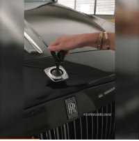 Memes, Videos, and Black: ROLLS  SUPERCARBLONDIE This is what happens when you try and steal the Spirit of Ecstasy off of a Rolls Royce 😲 Follow @supercarblondie for more awesome videos! . . carthrottle carsofinstagram carswithoutlimits instacars supercar carspotting supercarspotting rollsroyce blacklist black_list