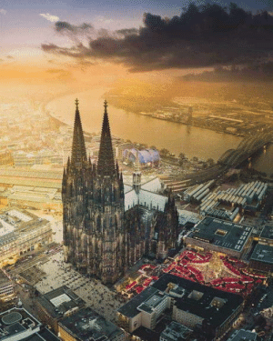 Roman Catholic Cathedral, Cologne, Germany. ????????: Roman Catholic Cathedral, Cologne, Germany. ????????