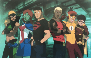 romancemedia: Young Justice Original Team Poster: romancemedia: Young Justice Original Team Poster
