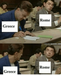 Greece, Rome, and Rough Roman: Rome  Greece  Rome  Greece
