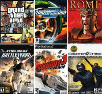2004 was a good year for gaming: ROME  PlayStation 2  -STAR WARS  RE  TOTAL WAR  COUNTER STRIKE  ZE FR CO  CD-ROH  ritual VALME  SIERRA 2004 was a good year for gaming