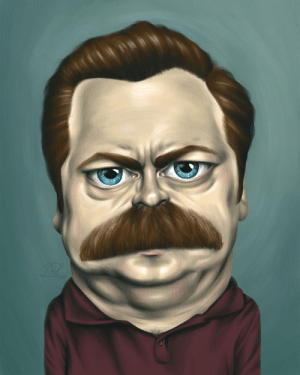 ron swanson/nick offerman: ron swanson/nick offerman