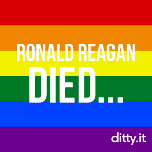 Best, Ronald Reagan, and Reagan: RONALD REAGAN  DIED  ditty.it The best one so far that exists