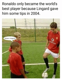 True story 😂✋ Ronaldo Lingard ManUnited Story Legend Academy: Ronaldo only became the world's  best player because Lingard gave  him some tips in 2004  Jesse Lingard True story 😂✋ Ronaldo Lingard ManUnited Story Legend Academy