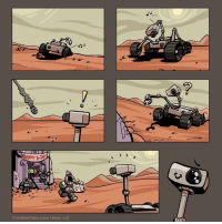One day we will get there, little robot. Happy Birthday to you!: ronMarines.com team One day we will get there, little robot. Happy Birthday to you!