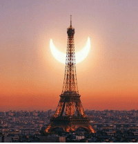 Solar eclipse in Paris: ros7com.-A Solar eclipse in Paris