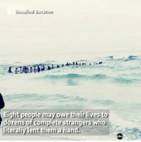 rp @abcnews - HUMAN CHAIN RESCUE: Dozens of strangers form a human chain stretching into the ocean to rescue swimmers stuck in a rip current in Florida. humanchain florida ripcurrent rescue @pmwhiphop: Rosalind Beckton  Eight people may owe their lives to  dozens of complete strangers who  iterally lent them a hand  EW rp @abcnews - HUMAN CHAIN RESCUE: Dozens of strangers form a human chain stretching into the ocean to rescue swimmers stuck in a rip current in Florida. humanchain florida ripcurrent rescue @pmwhiphop