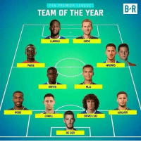 Memes, Rose, and 🤖: ROSE  PFA PREMIER LEA GU  BR  TEAM OF THE YEAR  LUHAKU  KAME  HAZARD  MANE  KANTE  WAUKER  CAHILL  DAVID LU12  DE GEA Still in Herrera's pocket 😂👌🏽