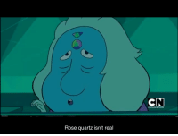 picture-pearlfect:  She was right all fucking long. This right here is foreshadowing to the most extreme levels.: Rose quartz isn't real picture-pearlfect:  She was right all fucking long. This right here is foreshadowing to the most extreme levels.