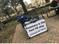 Target, Tumblr, and Best: Rosemary is the  best HS ship  CHANGE MY MIND what-is-rose-summoning:  I made a thing.