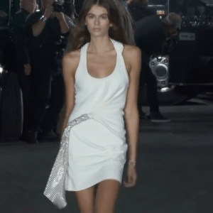 Target, Tumblr, and Blog: roseperfumeboy:KAIA GERBER OPENING FOR ALEXANDER WANG SS18 AT NYFW