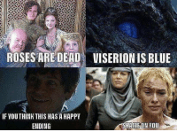 Memes, Blue, and 🤖: ROSES ARE DEAD  UISERION IS BLUE  IF YOUTHINK THIS HAS A HAPPIY  ENDING https://t.co/42yUTeZpbY
