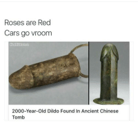 yo 😂😂😂: Roses are Red  Cars go vroom  Chill Blinton  2000-Year-old Dildo Found In Ancient Chinese  Tomb yo 😂😂😂