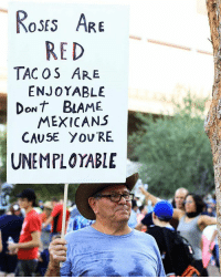 Memes, Touche, and 🤖: Roses ARE  RED  TAC OS ARE  ENJOYABLE  DoNt BAME  MEXICANS  CAUSE Y OV RE  UNEMPLOYABLE 🌹🌮🇲🇽 Nuff said touche