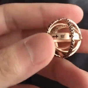 Beautiful, Cute, and Family: roses-on-the-rocks:  scatterations:  cute-aesthetics-things: What if you could wear the entire universe on your finger? Since ancient times, astronomers around the world have used models of the sky to make calculations. With the advent of the armillary sphere, stargazers were given a physical model to better visualize the lines of celestial longitude and latitude. Created independently in ancient Greece and ancient China, these armillary spheres consisted of spherical rings centered on either the Earth or the Sun. During the 16th and 17th centuries, these astronomy tools were sized down to become fashionable finger rings that moved just like regular armillary spheres. This beautiful and unique Ring will make a lovely gift for your friends and family! = GET YOURS HERE =   I've bought the silver one. I think it'll double as a pendant when it's open   I have a strong want for this