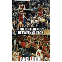 ALL OF LEBRON HATERS WHICH IS ALL OF YOU BE LIKE! (In my opinion the shot wasnt luck, Lebron is Goat, I just saw this and posted it): ROU  THE DIFFERENCE  BETWEEN CLUTCH  ONBAMEMES  AND LUCK ALL OF LEBRON HATERS WHICH IS ALL OF YOU BE LIKE! (In my opinion the shot wasnt luck, Lebron is Goat, I just saw this and posted it)