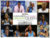 Dwight Howard, Meme, and Nba: rought by www.faceboal com NBAMemes  TERN  TERN  CONFESSIONS  QUEEN  DRAMA  So much drama, so little time.  Featuring:  MALAnnn  DWIGHT HOWARD  pIJM Credit: Ogie Jimenez  http://whatdoumeme.com/meme/27l92t