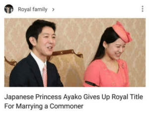 Oh Japan !!!!: Royal family  Japanese Princess Ayako Gives Up Royal Title  For Marrying a Commoner Oh Japan !!!!