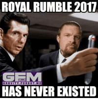 I'm sure even Vince himself regrets showing us this match. I'm referring to the royal rumble match of course. royalrumble wrestling prowrestling professionalwrestling meme wrestlingmemes wwememes wwe nxt raw mondaynightraw sdlive smackdownlive tna impactwrestling totalnonstopaction impactonpop boundforglory bfg xdivision njpw newjapanprowrestling roh ringofhonor luchaunderground pwg: ROYAL RUMBLE 2017  GE  GRAVITY FOR GOT. ME  HAS NEVER EXISTED I'm sure even Vince himself regrets showing us this match. I'm referring to the royal rumble match of course. royalrumble wrestling prowrestling professionalwrestling meme wrestlingmemes wwememes wwe nxt raw mondaynightraw sdlive smackdownlive tna impactwrestling totalnonstopaction impactonpop boundforglory bfg xdivision njpw newjapanprowrestling roh ringofhonor luchaunderground pwg