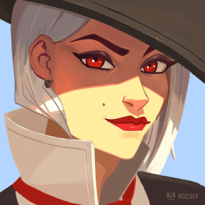 Tumblr, Blog, and Http: ROZULY rozuly:i   hope her passive is one-punching mcree