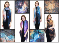 Dank, Paris, and Space: rp Space scarves!  Thor galaxy scarf:http://bit.ly/2gLA0ZI Hydrus galaxy scarf: http://bit.ly/2gxbGrM Bubble nebula scarf: http://bit.ly/2fL8Pi0 Paris from the ISS scarf: http://bit.ly/2gdpwi6 Star cluster scarf: http://bit.ly/2gNzeZU