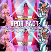 Beautiful, Finals, and Funny: RPOR FACT  was much bigger than shown in the final cut ☕️= people at the reunion - Tbh I know this isn't like a super interesting fact but I wanted to post something! 💕💕 - QOTD: what should next years makeover theme be? - rupaulsdragrace rpdr Rupaul drag rpdrs9 tumblr love wigs makeup queen beautiful instagood gag like4like sickening drama dragrace crown werk shade read humour funny comedy lgbt likesforlikes likeforlike l4l likeback