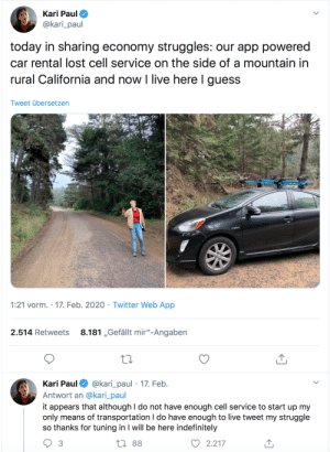 rqqu: rtrixie:  rtrixie:   rickjameskinkshame:   rtrixie:  Welcome to the future, where you don't own anything and the stuff you rent stops working once your phone has no signal.   App powered car? 🤦♀️    I wish people remembered the age old wisdom that if something doesn't absolutely require an Internet connection to function, it shouldn't be connected to the internet - same goes for apps.     WHY IS A CATFOOD DISPENSER CONNECTED TO THE INTERNET   tbh you play yourself for using this stuff in the first place : rqqu: rtrixie:  rtrixie:   rickjameskinkshame:   rtrixie:  Welcome to the future, where you don't own anything and the stuff you rent stops working once your phone has no signal.   App powered car? 🤦♀️    I wish people remembered the age old wisdom that if something doesn't absolutely require an Internet connection to function, it shouldn't be connected to the internet - same goes for apps.     WHY IS A CATFOOD DISPENSER CONNECTED TO THE INTERNET   tbh you play yourself for using this stuff in the first place